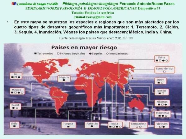 FERNANDO ANTONIO RUANO FAXAS. IMAGOLOGÍA DE LOS ESPACIOS TERRESTRES Y LOS ESPACIOS EXTRATERRESTRES. DESASTRES DE TODO TIPO EN MÉXICO. ENDOCANIBALISMO, ENDOFAGIA