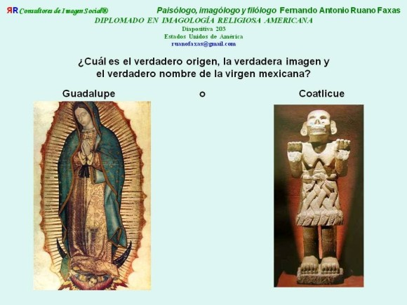 RUANO FAXAS. VIRGEN GUADALUPE