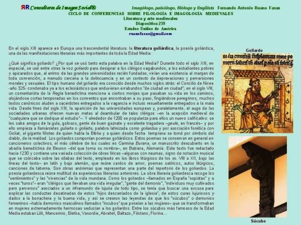 FERNANDO ANTONIO RUANO FAXAS. GOLIARDOS EN LA HISTORIA DEL ARTE Y LA LITERATURA. RELIGIÓN, RELIGIONES, CATOLICISMO, CRISTIANISMO, PEDERASTIA, PEDOFILIA, CORRUPCIÓN, MÉXICO