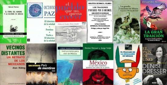 FERNANDO ANTONIO RUANO FAXAS. IMAGOLOGÍA, IMAGOLOGY. PARA ENTENDER UN POCO A MÉXICO HAY QUE LEER COMO MÍNIMO ESTOS LIBROS