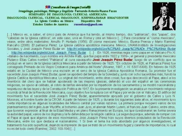 FERNANDO ANTONIO RUANO FAXAS. José Joaquín Pérez Budar EL PATRIARCA PÉREZ, PAPA DE MÉXICO Y DE AMÉRICA