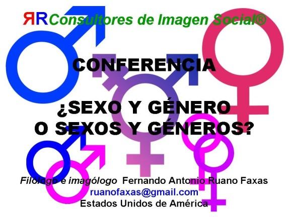FERNANDO ANTONIO RUANO FAXAS. SEXO, GÉNERO Y SEXUALIDAD. LA FELICIDAD HUMANA EN CONTEXTO SITUACIONAL