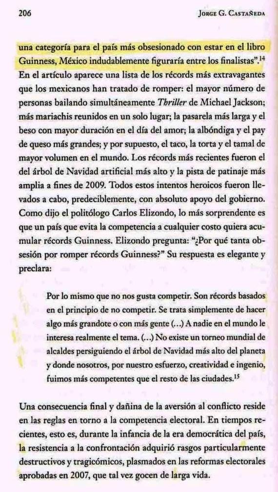 FERNANDO ANTONIO RUANO FAXAS. JORGE G. CASTAÑEDA. MACROMANÍA Y MICROMANÍA DE LOS MEXICANOS. MEXICANOS MACRÓMANOS Y MICRÓMANOS
