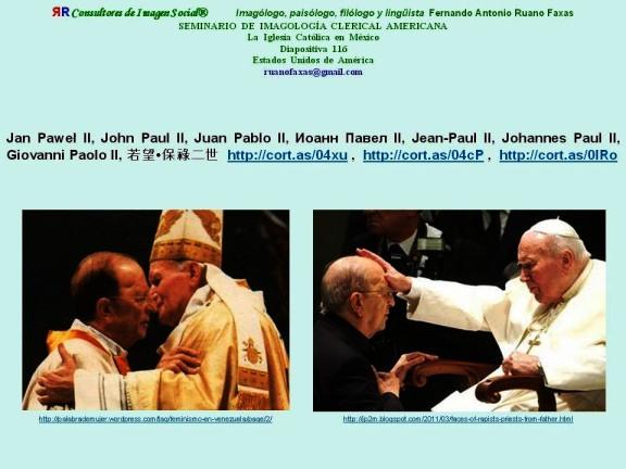 FERNANDO ANTONIO RUANO FAXAS. JUAN PABLO II Y MARCIAL MACIEL DEGOLLADO