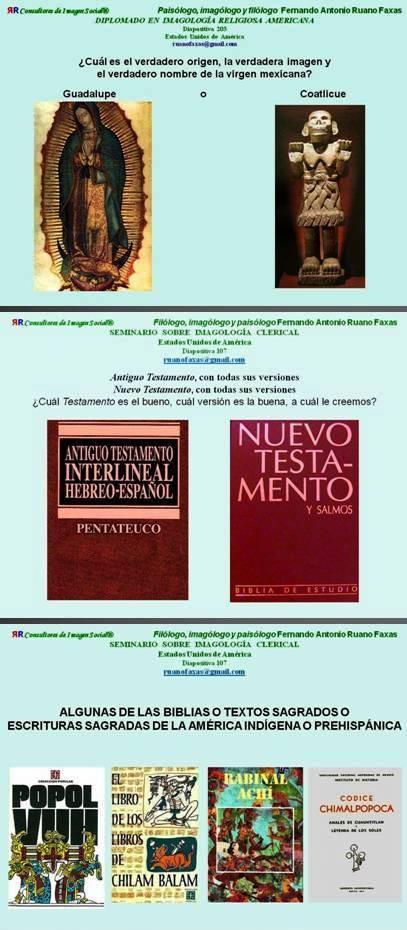 FERNANDO ANTONIO RUANO FAXAS. MACROMANÍA Y MICROMANÍA EN MÉXICO Y ENTRE LOS MEXICANOS. NO BASTA CON PONERLE A LA VIRGEN DE GUADALUPE EL NOMBRE DE REINA DE MÉXICO, HAY QUE PONERLE EMPERATRIZ DE AMÉRICA