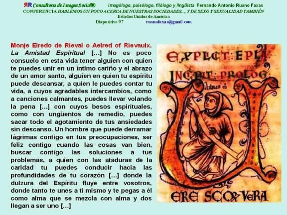 FERNANDO ANTONIO RUANO FAXAS, MONJE ELREDO DE RIEVAL O AELRED OF RIEVAULX
