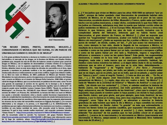 IMAGOLOGÍA, PAISOLOGÍA. LOS NAZIS EN MÉXICO. HITLER, MUSSOLINI, FRANCO, VASCONCELOS, EUGENESIA, EUGENESISTAS, RACISMO, MACROMANÍA, MICROMANÍA, ELECCIONES, PAN, YUNQUE