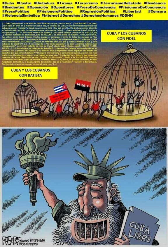 Fernando Antonio Ruano Faxas.Cuba, Castro, Dictadura, Tiranía, Terrorismo de Estado, Disidencia, Disidentes, Oposición, Opositores, Libertad, Censura, Internet, Violencia Simbólica, Derechos Humanos