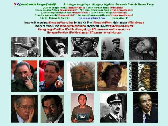 FERNANDO ANTONIO RUANO FAXAS. IMAGOLOGÍA, IMAGEN PÚBLICA. DINERO, FORTUNA, FORTUNAS DE LOS DICTADORES. DICTADURA, DICTADURAS