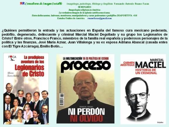 FERNANDO ANTONIO RUANO FAXAS. MARCIAL MACIEL, LEGIONARIOS DE CRISTO, LEGIÓN DE CRISTO, VATICANO, MÉXICO, ESPAÑA