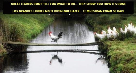 FERNANDO ANTONIO RUANO FAXAS. IMAGOLOGÍA. GREAT LEADERS DON'T TELL YOU WHAT TO DO..., THEY SHOW YOU HOW IT'S DONE. LOS GRANDES LÍDERES NO TE DICEN QUÉ HACER..., TE MUESTRAN CÓMO SE HACE