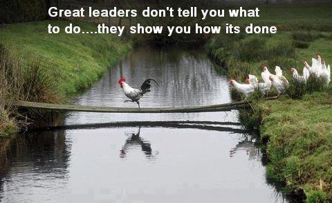 FERNANDO ANTONIO RUANO FAXAS. Los grandes líderes no te dicen qué hacer..., te muestran cómo se hace. Great leaders don't tell you what to do..., they show you how it's done