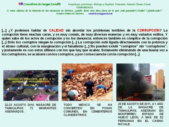 FERNANDO ANTONIO RUANO FAXAS. MÉXICO. MASACRES EN TAMAULIPAS Y EN CASINO ROYALE. NARCOTRÁFICO, ILLEGAL DRUG TRADE, НАРКОТОРГОВЛЯ, NARCOTRAFIC, DROGENHANDEL.