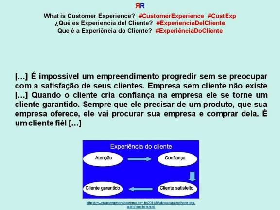 FERNANDO ANTONIO RUANO FAXAS. PAULINA RENDÓN AGUILAR. What is Customer Experience. Qué es Experiencia del Cliente. Que é a Experiência do Cliente. Diapositiva 36