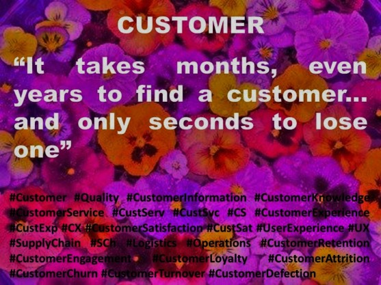 Paulina Rendón Aguilar. It takes months, even years to find a customer... and only seconds to lose one. KENNAMETAL, CUSTOMER SERVICE, CUSTOMER EXPERIENCE, CUSTOMER SATISFACTION