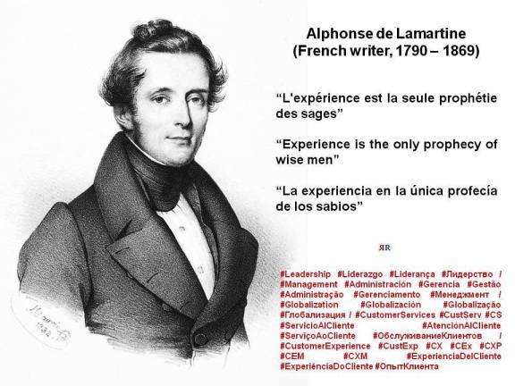 PAULINA RENDÓN AGUILAR, KENNAMETAL. Alphonse de Lamartine. L'expérience est la seule prophétie des sages. Experience is the only prophecy of wise men. La experiencia en la única profecía de los sabios