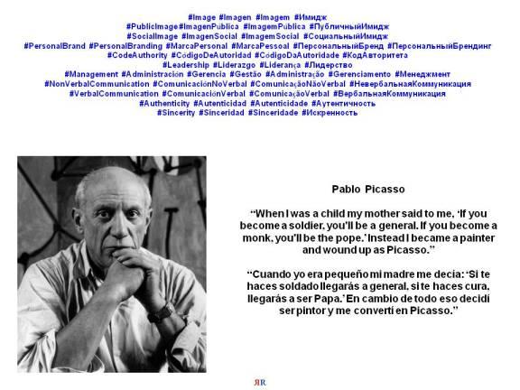 PAULINA RENDÓN AGUILAR. PABLO PICASSO, LEADERSHIP, MANAGEMENT