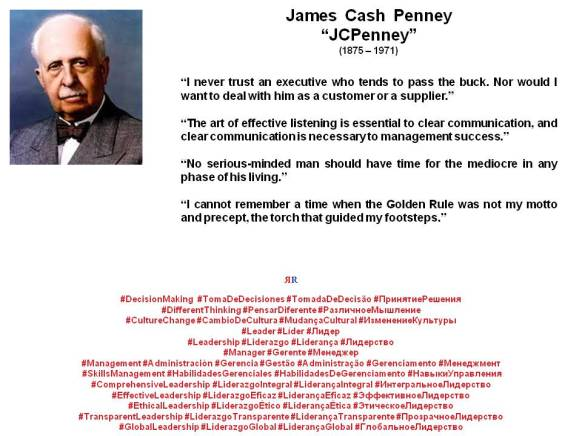 PAULINA RENDON AGUILAR. James Cash Penney, JCPenney