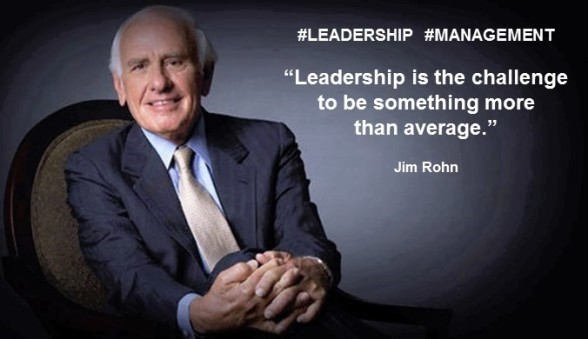 PAULINA RENDON AGUILAR. Jim Rohn. Leadership is the challenge to be something more than average