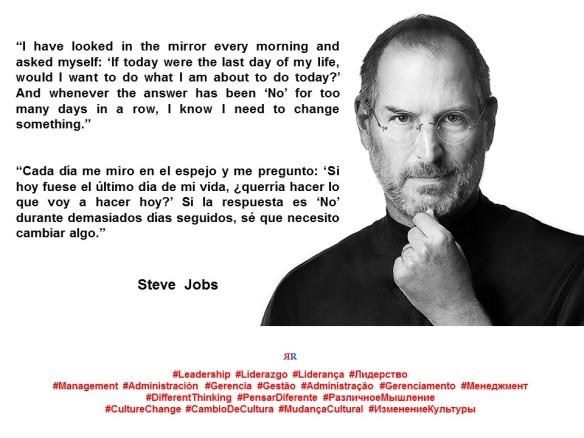 PAULINA RENDON AGUILAR. Steve Jobs. Leadership, Liderazgo, Liderança, Лидерство. Management, Administración, Gerencia, Gestão, Administração, Gerenciamento, Менеджмент