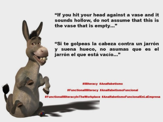 RUANO FAXAS. IMAGOLOGÍA. If you hit your head against a vase and it sounds hollow, do not assume that this is the vase that is empty.