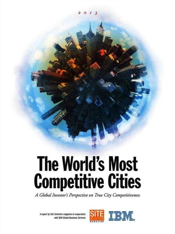 The World's Most Competitive Cities 2013. BUSINESS, SALES, MANAGEMENT, LEADERSHIP, PAULINA RENDON AGUILAR