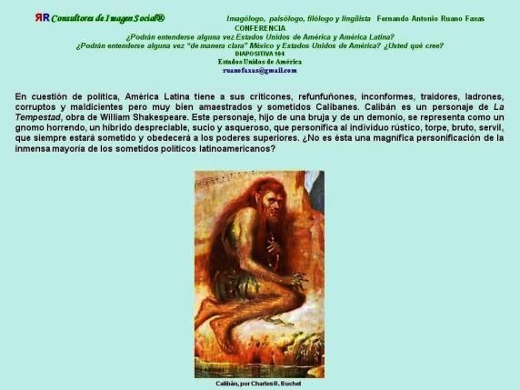 FERNANDO ANTONIO RUANO FAXAS. CALIBÁN. LAS RELACIONES ENTRE ESTADOS UNIDOS Y AMÉRICA LATINA, MÉXICO