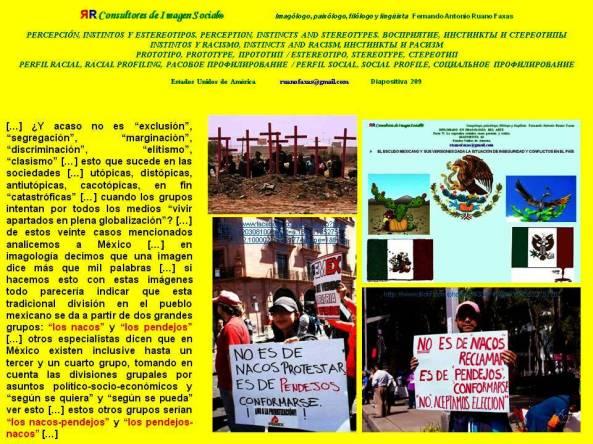 FERNANDO ANTONIO RUANO FAXAS. DIVISIONES CLASISTAS EN MÉXICO. LOS NACOS, LOS PENDEJOS, LOS NACOS-PENDEJOS, LOS PENDEJOS-NACOS. DE TODAS MANERAS JUAN TE LLAMAS.