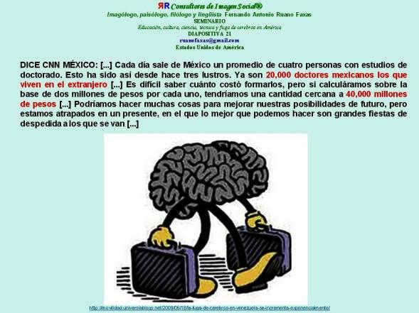FERNANDO ANTONIO RUANO FAXAS. FUGA DE CEREBROS EN MÉXICO. REFORMA MIGRATORIA, IMMIGRATION REFORM, ИММИГРАЦИОННАЯ РЕФОРМА, REFORMA DA IMIGRAÇÃO