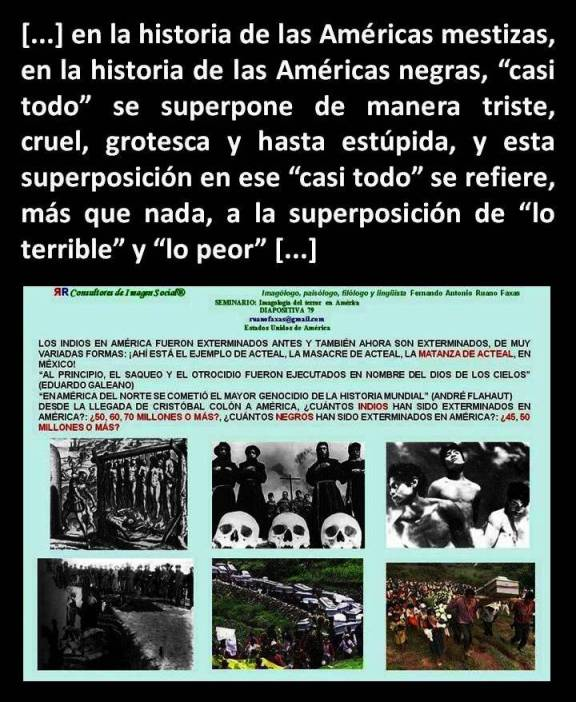 FERNANDO ANTONIO RUANO FAXAS. INSTINTOS Y RACISMO, INSTINCTS AND RACISM, INSTINTOS E RACISMO, ИНСТИНКТЫ И РАСИЗМ