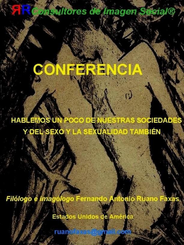 FERNANDO ANTONIO RUANO FAXAS. SEXUALIDAD, SEXUALITY, SEXUALIDADE, СЕКСУАЛЬНОСТЬ. IMAGOLOGÍA. AMOR Y SEXUALIDAD, CARIBE, CUBA