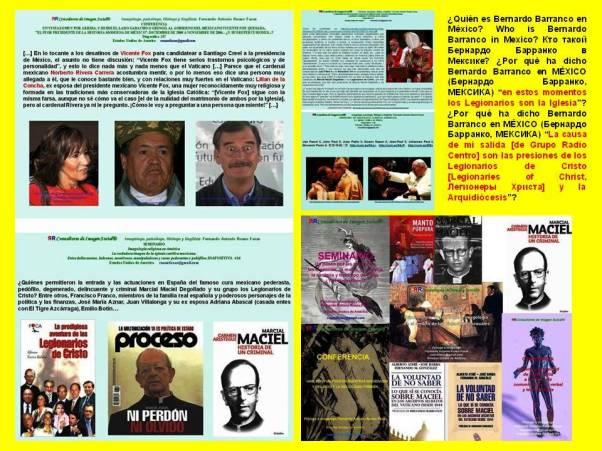 FERNARDO ANTONIO RUANO FAXAS. Quién es Bernardo Barranco en México. Who is Bernardo Barranco in Mexico. Кто такой Бернардо Барранко в Мексике