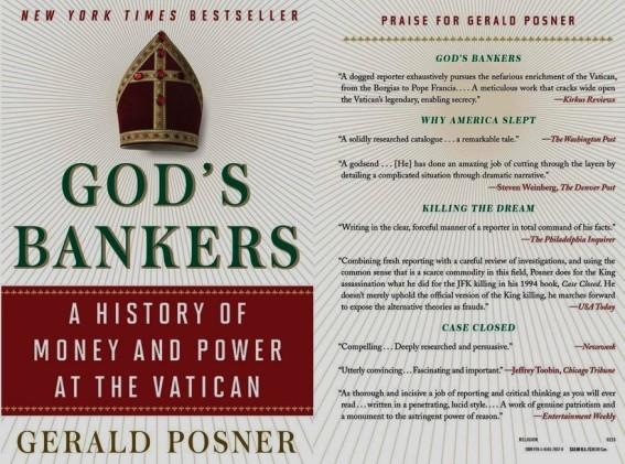 Gerald Posner. God's Bankers. A History of Money and Power at the Vatican. VATICANO, VATICAN, ВАТИКАН. CORRUPCIÓN, CORRUPTION, КОРРУПЦИЯ. PEDOFILIA, PEDOPHILIA, ПЕДОФИЛИЯ. PEDERASTIA, PEDERASTY, ПЕДЕРАСТИЯ
