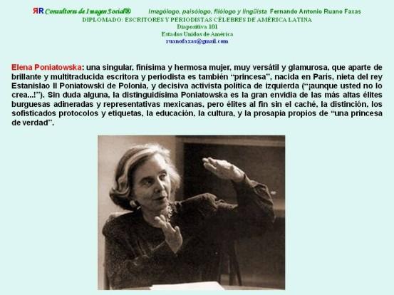RUANO FAXAS. ELENA PONIATOWSKA, PERIODISMO Y PERIODITAS EN MÉXICO