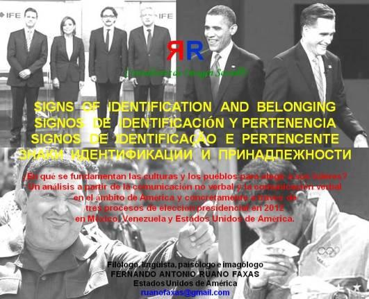 FERNANDO ANTONIO RUANO FAXAS. CONFERENCIA. SIGNS OF IDENTIFICATION AND BELONGING. SIGNOS DE IDENTIFICACIÓN Y PERTENENCIA. SIGNOS DE IDENTIFICAÇÃO E PERTENCENTE
