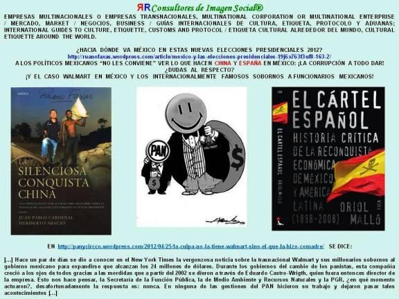 FERNANDO ANTONIO RUANO FAXAS. CORRUPCIÓN Y SOBORNOS EN MÉXICO. WALMART, CHINA, ESPAÑA...