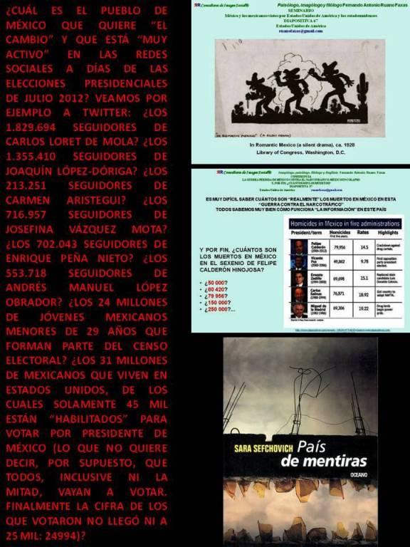 FERNANDO ANTONIO RUANO FAXAS. EL PUEBLO DE MÉXICO NO ESTÁ CAPACITADO PARA ENTENDER LO QUE ES CAMBIO. LAS ELECCIONES PRESIDENCIALES HABLAN POR SÍ MISMAS. CANGREJISMO, LA HISTORIA DE LOS CANGREJOS MEXICANOS