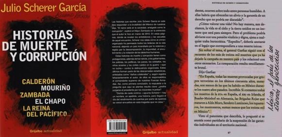 FERNANDO ANTONIO RUANO FAXAS. IMAGOLOGÍA, PAISOLOGÍA. JULIO SCHERER GARCÍA. HISTORIAS DE MUERTE Y CORRUPCIÓN. ELECCIONES. MÉXICO, MEXICANOS, PAÍS DE MENTIRAS Y MENTIROSOS