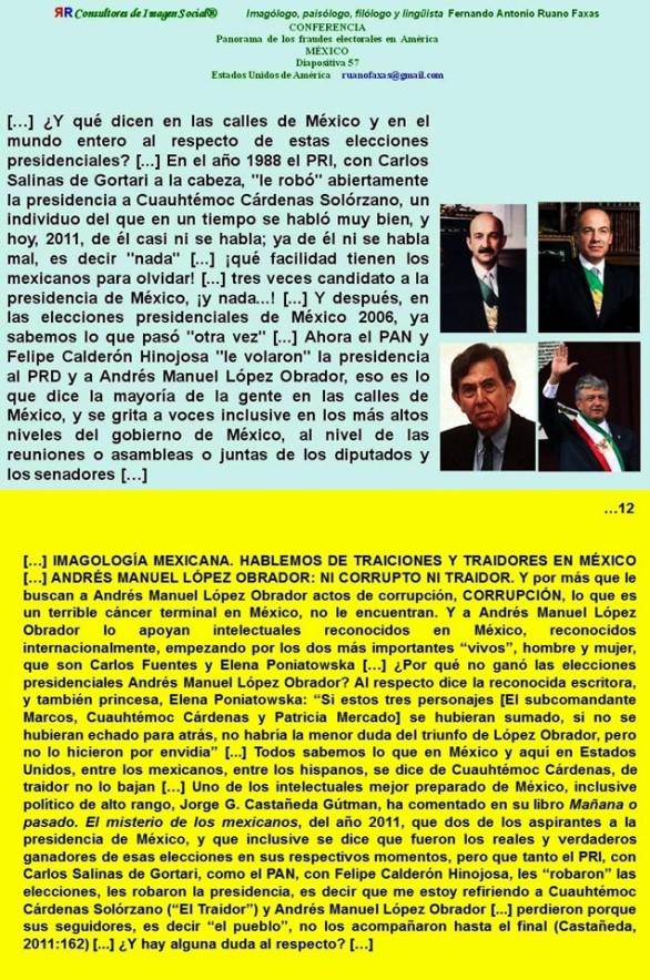 FERNANDO ANTONIO RUANO FAXAS, IMAGOLOGÍA, POLÍTICA, ELECCIONES, FRAUDE ELECTORAL, MEXICANIZACIÓN, MEXICO, CORRUPCIÓN, IMPUNIDAD, DERECHOS HUMANOS, MUERTOS, DESPARECIDOS, AYOTZINAPA