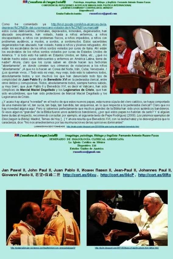 FERNANDO ANTONIO RUANO FAXAS. MARCIAL MACIEL, МАРСИАЛЬ МАСИЕЛЬ. BENEDICT XVI, BENEDICTO XVI, БЕНЕДИКТ XVI. LEGIÓN DE CRISTO, LEGION OF CHRIST, ЛЕГИОН ХРИСТА. LEGIONARIOS DE CRISTO