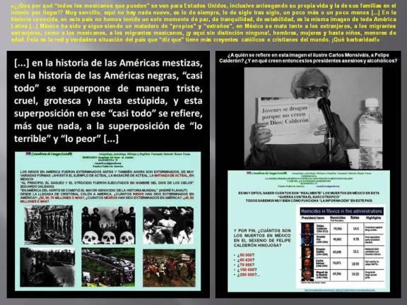 FERNANDO ANTONIO RUANO FAXAS. MÉXICO, EL MATADERO DE PROPIOS Y EXTRAÑOS.