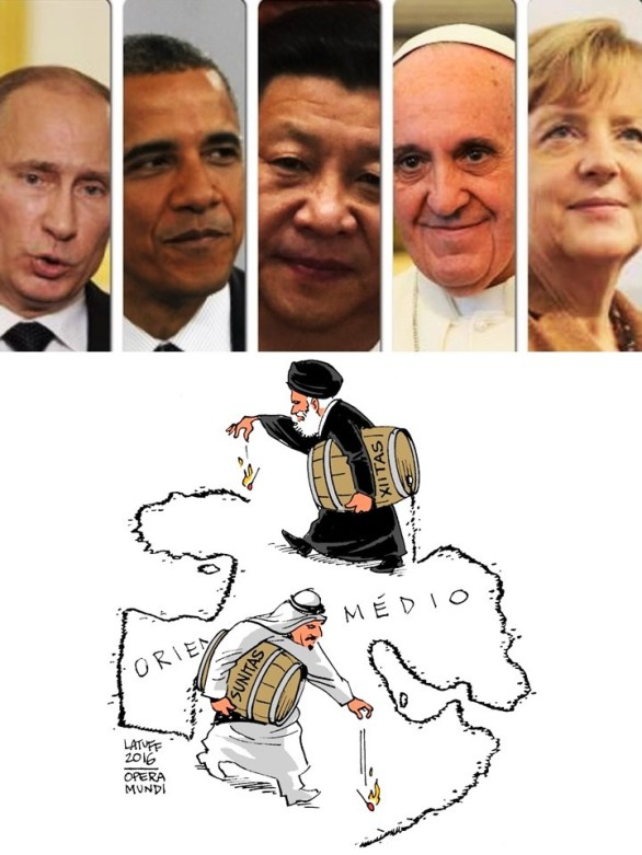 Irán, Arabia Saudita, Arabia Saudí, SaudiArabia, Baréin, Bahrain, Bahréin, Sudán, Emiratos Árabes Unidos, EAU, United Arab Emirates, UAE, Kuwait, Sunismo, Sunni, Chiismo, Shia, Carlos Latuff