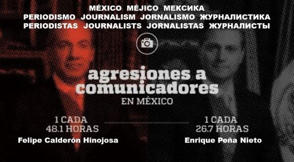 MEXICO, MEJICO. AGRESIONES, ATENTADOS, CONTRA PERIODISMO, PERIODITAS, COMUNICADORES, MEDIOS. FELIPE CALDERÓN HINOJOSA, PAN. ENRIQUE PEÑA NIETO, PRI