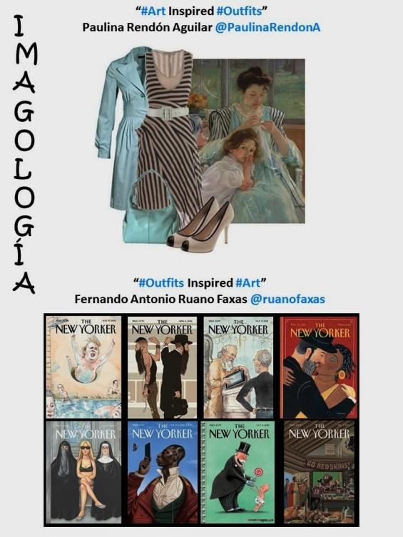 PAULINA RENDON AGUILAR, FERNANDO ANTONIO RUANO FAXAS. IMAGOLOGÍA, FASHION, MODA. Art Inspired Outfits, Outfits Inspired Art