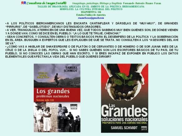 RUANO FAXAS. LOS GRANDES PROBLEMAS NACIONALES
