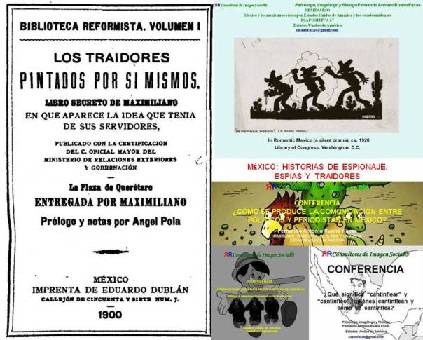 RUANO FAXAS. MÉXICO, HISTORIAS DE ESPIONAJE, ESPÍAS Y TRAIDORES