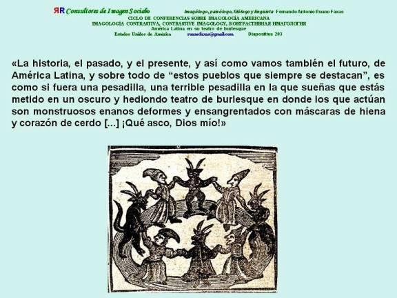 FERNANDO ANTONIO RUANO FAXAS. EL TEATRO BURLESQUE O CIRCO DE LA DEMOCRACIA EN AMÉRICA LATINA