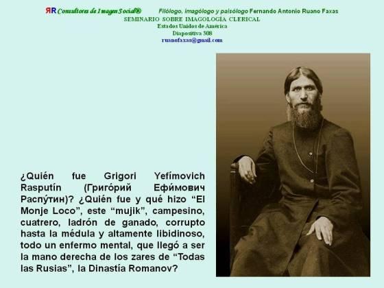 FERNANDO ANTONIO RUANO FAXAS. Grigori Rasputín, Grigori Rasputin, Григорий Распутин
