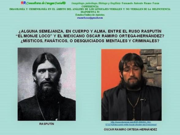 FERNANDO ANTONIO RUANO FAXAS. IMAGOLOGÍA, MEXICO, RELIGIÓN, RELIGIONES, SINCRETISMO. RASPUTÍN Y ÓSCAR RAMIRO ORTEGA-HERNÁNDEZ