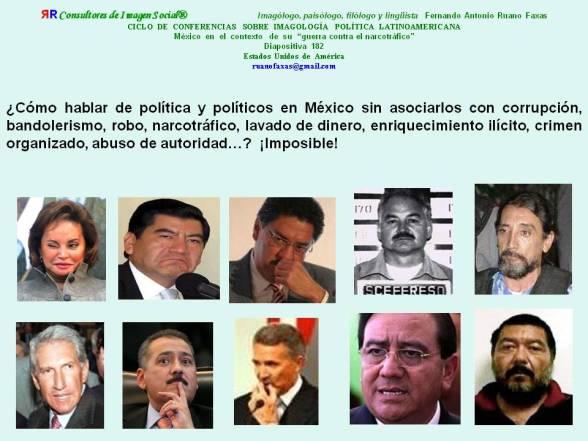 FERNANDO ANTONIO RUANO FAXAS. QUIÉNES SON LOS VERDADEROS DELINCUENTES DE MÉXICO. LOS VERDADEROS Y MÁS GRANDES DELINCUENTES DE MÉXICO ESTÁN EN LA POLÍTICA, EN LOS PARTIDOS, EN LOS GOBIERNOS
